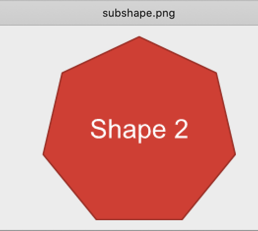 smartshape exported as PNG