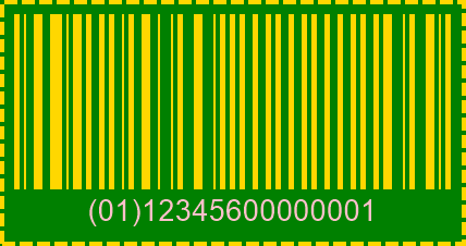 SCC14 BarCode preview