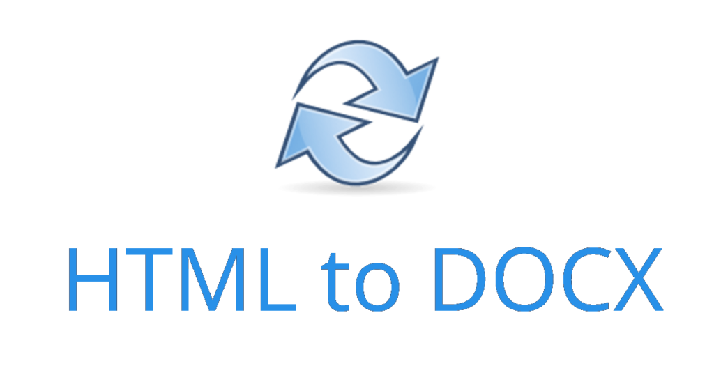 html to docx conversion logo