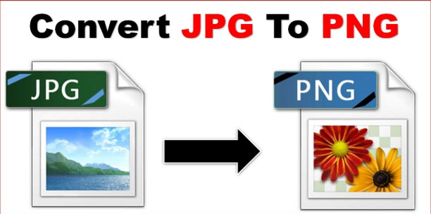 JPEG to PNG conversion
