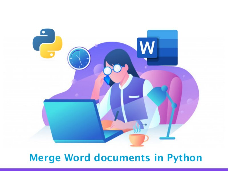 Merge Word files in Python