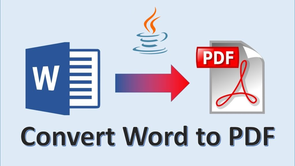 DOC to PDF in Java
