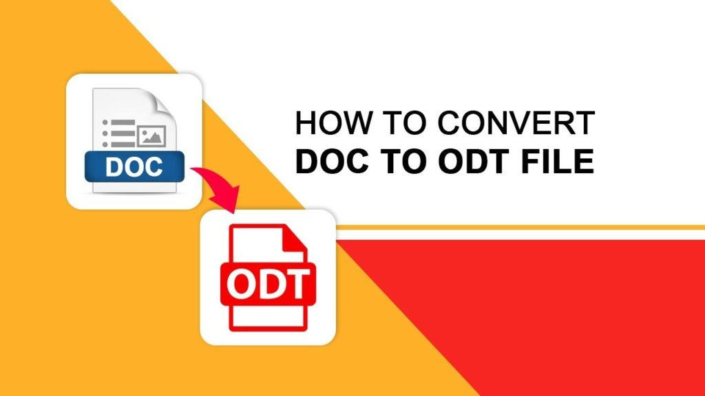 DOC to ODT conversion
