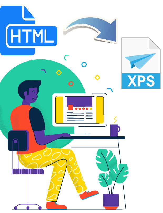 Convert HTML to XPS